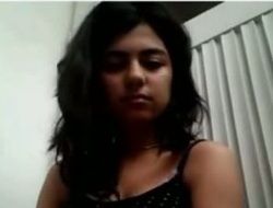 Indian Legal age teenager Tits Showing On Cam